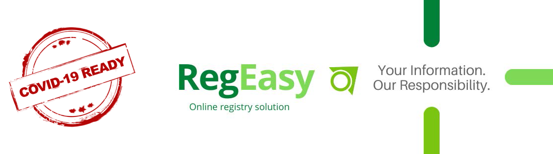 RegEasy Online Registry Solution - Your Information Our Responsibility